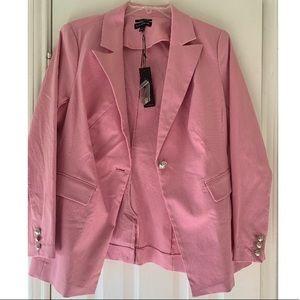 Pink Lane Bryant Blazer